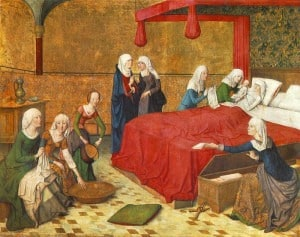 medieval midwife-history-medieval