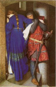Frederic_William_Burton_-_Hellelil_and_Hildebrand_or_The_Meeting_on_the_Turret_Stairs