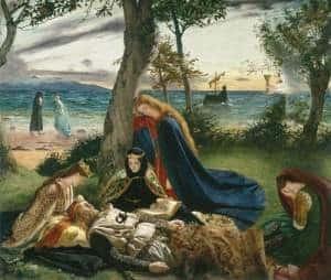 Archer, James, 1823-1904; La mort d